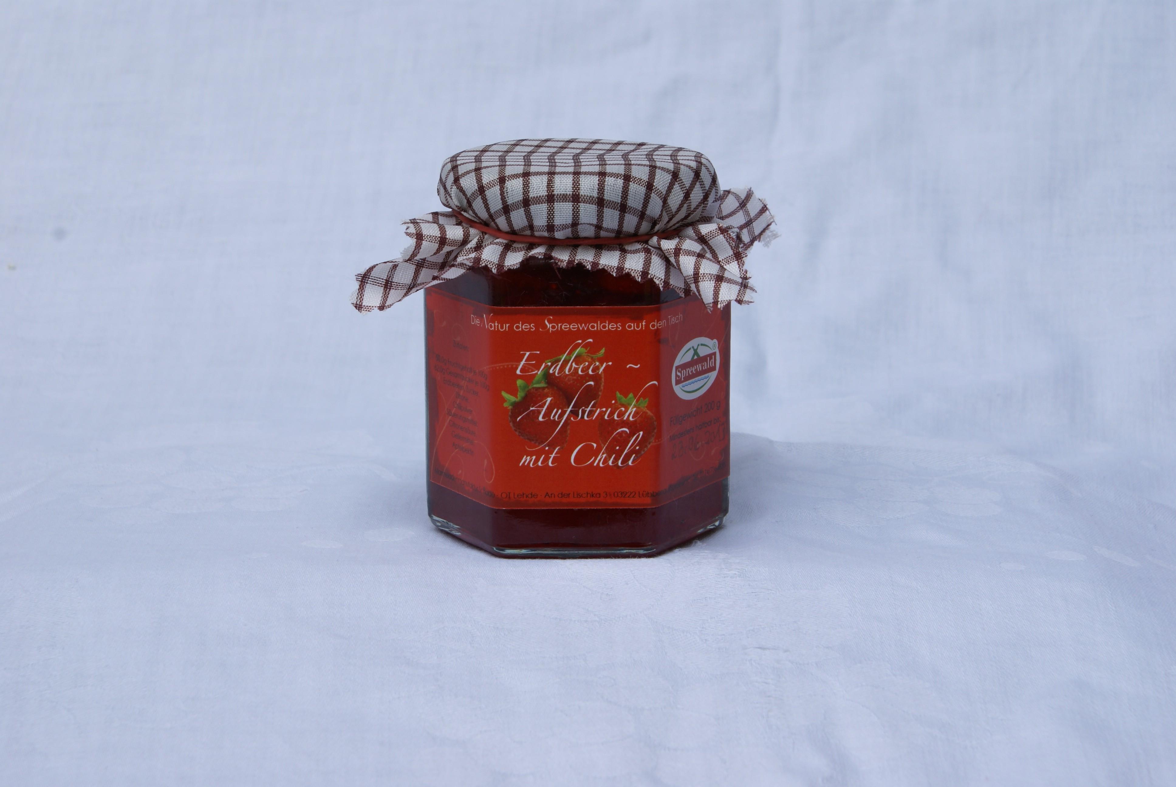 Erdbeer-Chili-Aufstrich