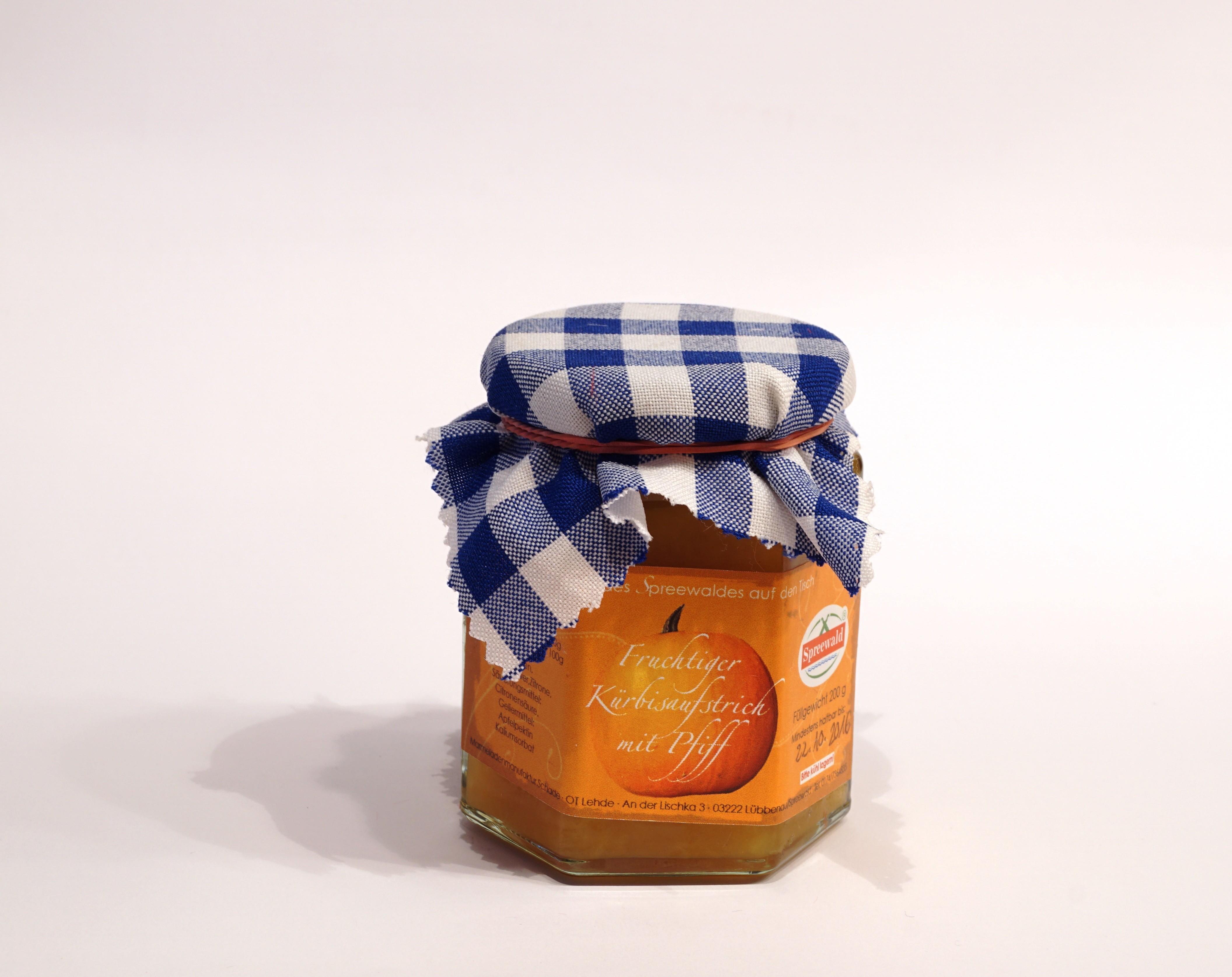 Kürbis mit Pfiff Kürbis-Orange-Ingwer-Aufstrich